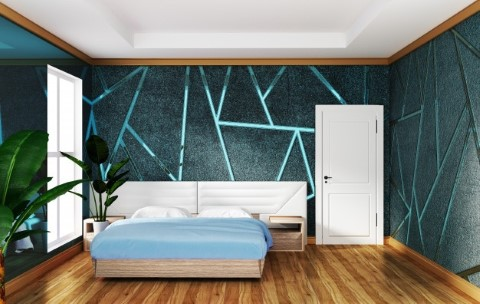 ทาสีห้องนอนสวยๆ14