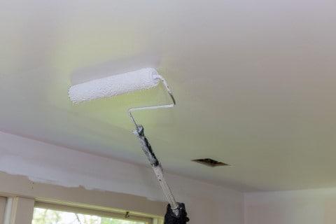 สีทาฝ้าเพดาน สีขาว